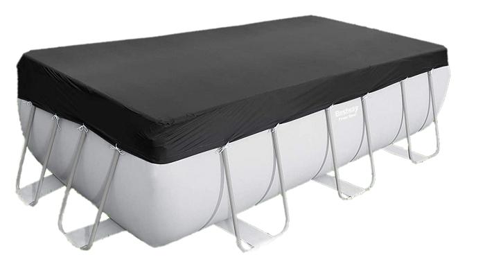 cobertor piscina desmontable invierno negro